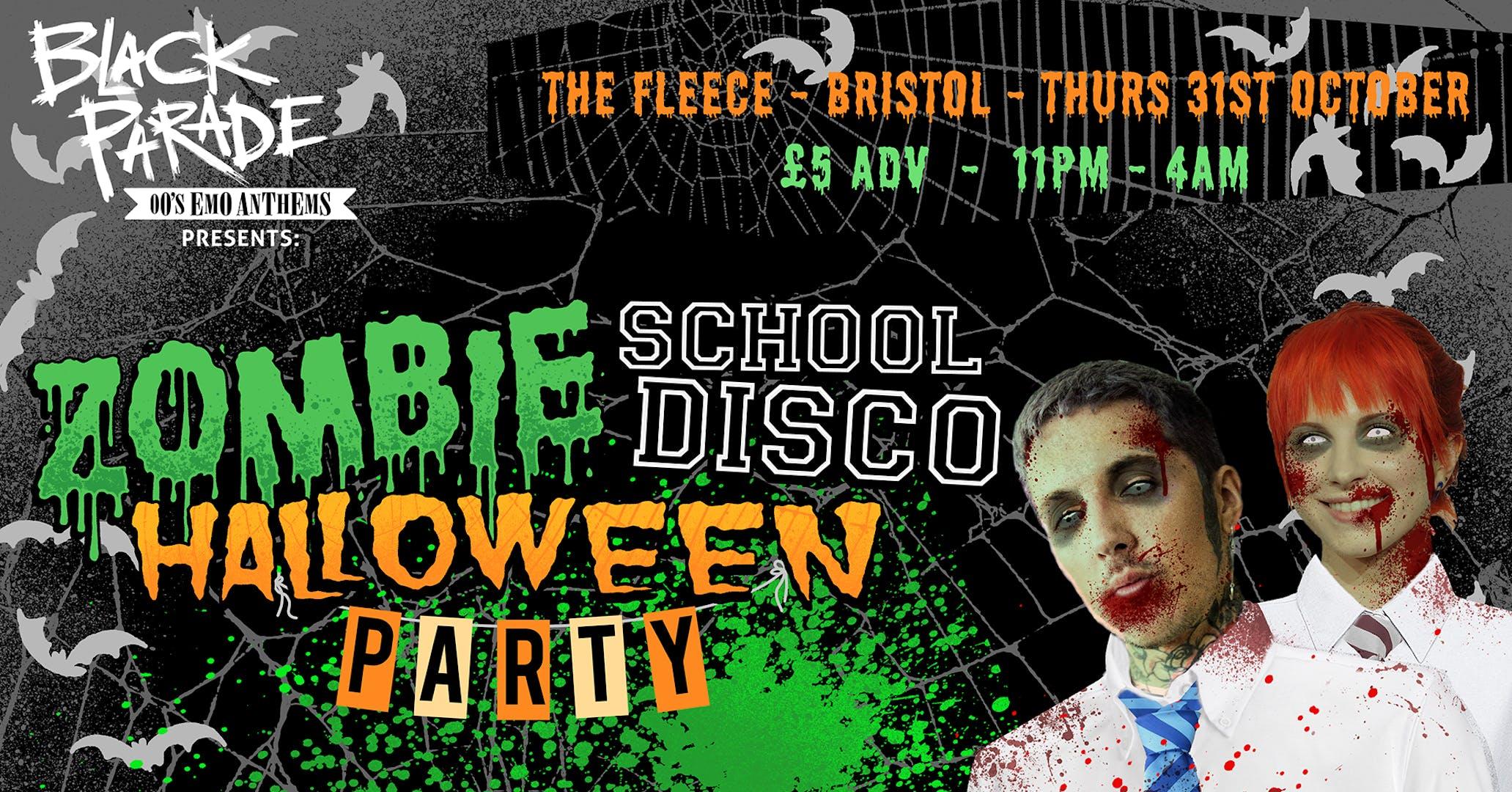 Black Parade presents Halloween Zombie School Disco