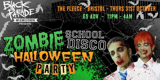 Black Parade presents: Halloween Zombie School Disco