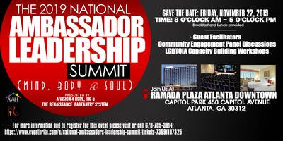 National Ambassador Leadership Summit 2019