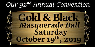 Moorish Science Temple of America's Gold & Black Masquerade Ball