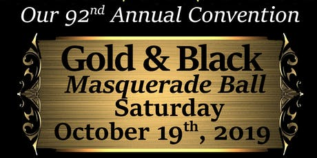 Moorish Science Temple of America's Gold & Black Masquerade Ball tickets