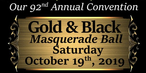 Moorish Science Temple of America's Gold & Black Masquerade Ball