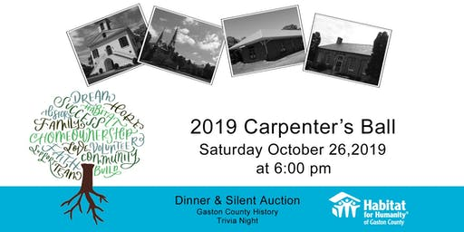 2019 Carpenter's Ball