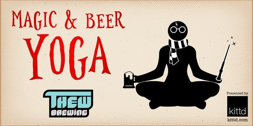 Magic & Beer Yoga at Thew Brewing Company