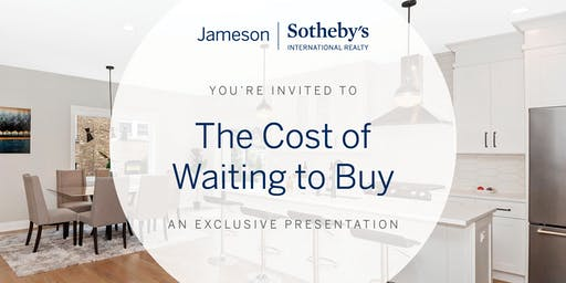 The Cost Of Waiting To Buy