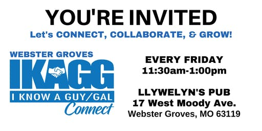 Webster Groves IKAGG CONNECT Weekly Meeting
