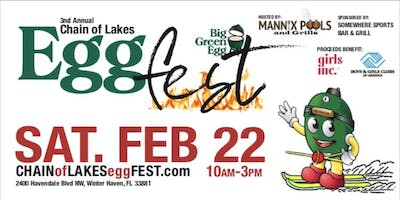 3rd Annual Chain of Lakes EGGfest