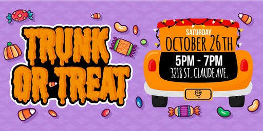 2nd Annual UCE Trunk-or-Treat in the Bywater