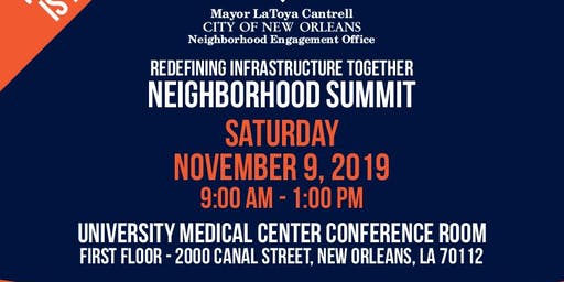 2019 Neighborhood Summit: Redefining Infrastructure Together