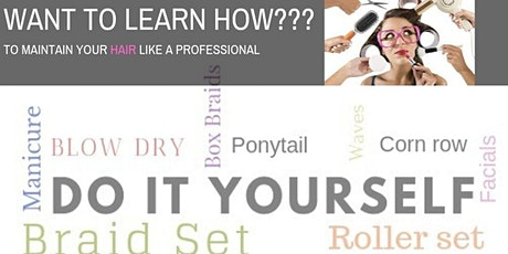 What to learn HOW??? DIY beauty! Maintain your beauty like a professional(Cocktail Time) tickets
