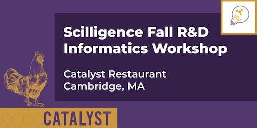 Scilligence Fall R&D Informatics Workshop