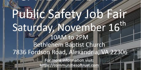 Public Safety Job Fair tickets