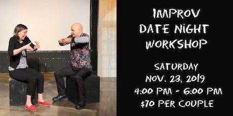 Improv Date Night Workshop tickets