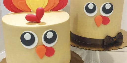 Turkey cake decorating class