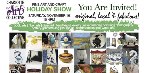 Charlotte Art Collective Holiday Show and Sale