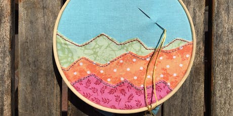 Landscape Embroidery tickets
