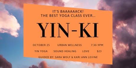 YIN-KI: Dissolve into Love tickets