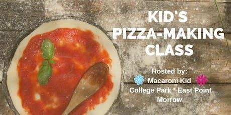 Kid's Pizza-Making Class tickets