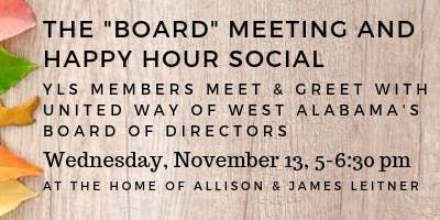"""The """"Board"""" Meeting Happy Hour Social"""