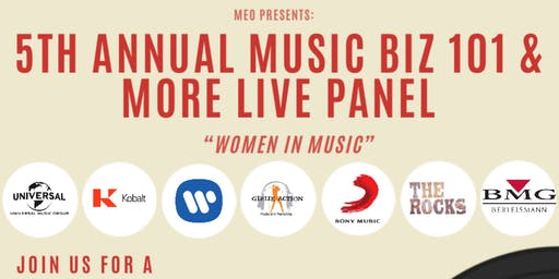 MEO Presents: The Music Biz 101 & More Live Panel