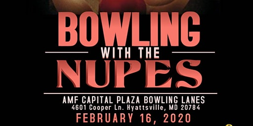 Hyattsville/Landover (MD) Alumni Chapter : 12th Annual Bowling W/ The Nupes