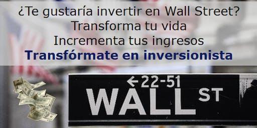 """""""Transformate en Inversionista"""""""