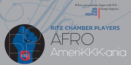Ritz Chamber Players: Afro-Ameri-KKK-ania tickets
