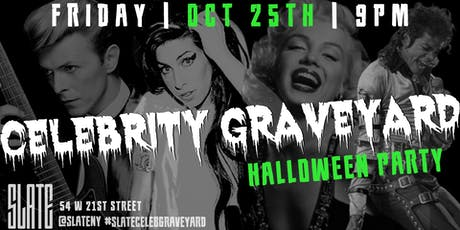 Slate NY's Celebrity Graveyard Halloween Party tickets