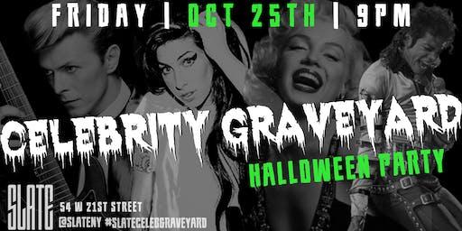 Slate NY's Celebrity Graveyard Halloween Party