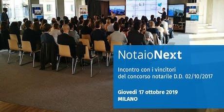 NotaioNext | Incontro con i Notai vincitori del concorso 2017 biglietti