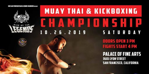 Legends Muay Thai Championship 2019