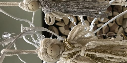 Macrame Xmas Decorations