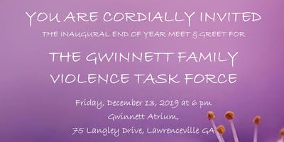 Inaugural Gwinnett Family Violence Task Force Meet & Greet