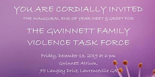 Inaugural Gwinnett Family Violence Task Force Meet & Greet