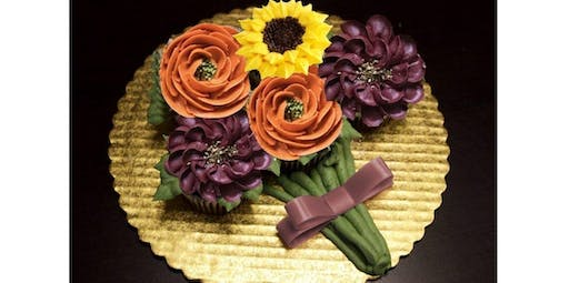 Fall Flower Cupcake Bouquet (2019-11-11 starts at 6:30 PM)