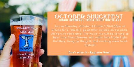 Cisco's October Shuckfest at Dillons tickets