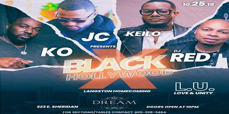 Black Hollywood x LU Unity- Pre LU Homecoming Party tickets