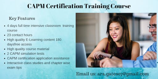 CAPM Certification Course in Montpelier, VT