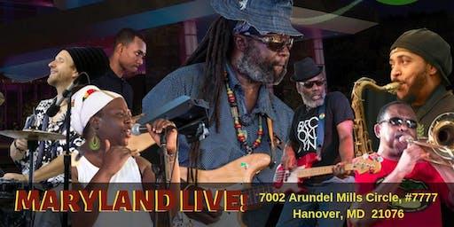 Proverbs Reggae Band LIVE at Maryland Live!