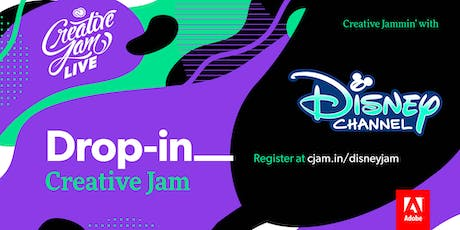 Adobe Drop-In Rush Creative Jam LIVE with Disney tickets