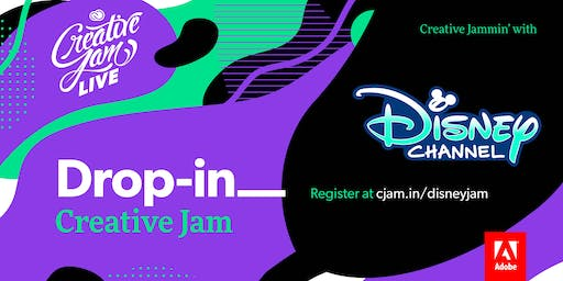 Adobe Drop-In Rush Creative Jam LIVE with Disney
