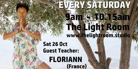 Community Yoga Class - with Floriann (France) - Sat26Oct tickets