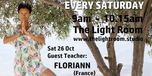 Community Yoga Class - with Floriann (France) - Sat26Oct