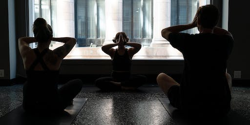 Happy Hour Yoga!  Yoga with the OMies at the Kimpton Gray Hotel Chicago