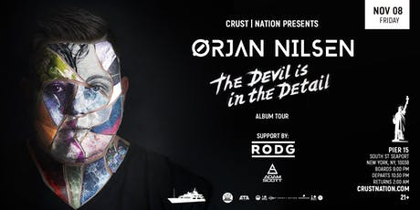 ORJAN NILSEN Boat Party Yacht Cruise NYC (Indoor) tickets