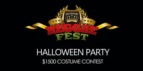 Reggae Fest Halloween Party at Howard Theatre $1500 Costume Contest tickets