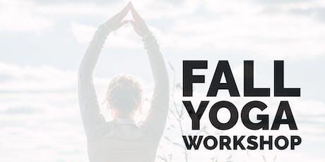Fall Yoga Workshop tickets