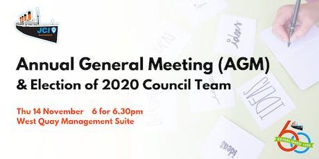 JCI Southampton: 2019 AGM & Election of 2020 Council Team tickets