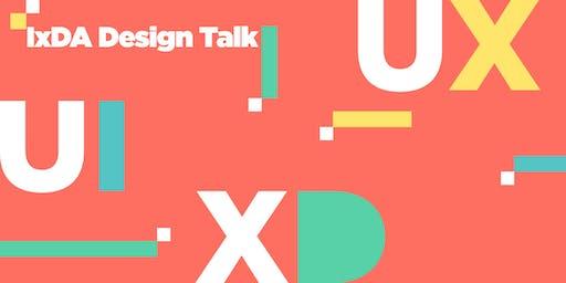 IxDA - October UI UX Speaker Event