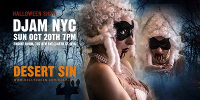 event image Djam NYC Halloween Show with Desert Sin